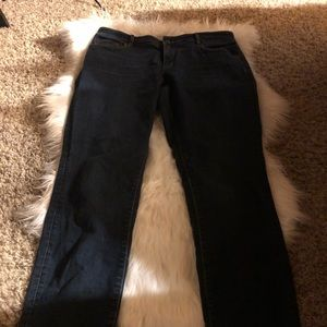 Ann Taylor Jeans The Skinny And Curvy Fit 8T